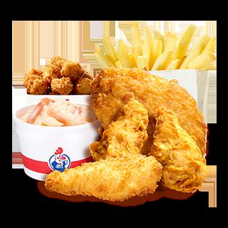 Chicken Sampler Meal