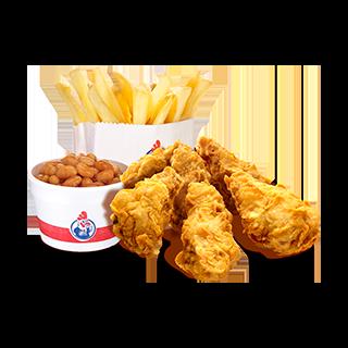 Favorite Wings Meal