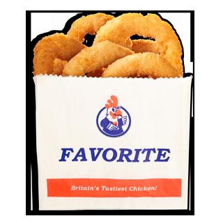 Favorite Breaded Onion Rings