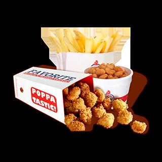 Chicken Poppa Meal