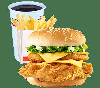 Chicken Burger Meals
