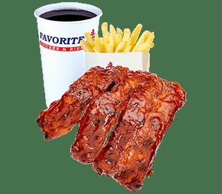 BBQ Rib Meals
