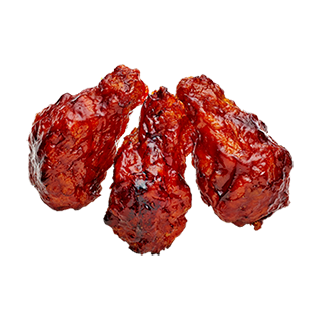 Favorite Spicy BBQ Wings
