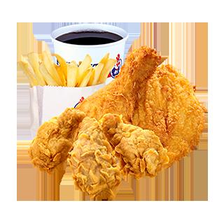 Wing Dinger Meal